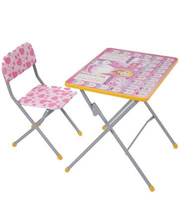 Фея Досуг 301 Принцесса  — 1540р. ------------------------------ Комплект мебели Фея Досуг 301 Принцесса порадует дошколенка, ведь он яркий, эффектный и красочный.