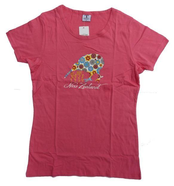 Womens+Pink+Kiwi+T-shirt  http://www.shopenzed.com/womens-pink-kiwi-t-shirt-xidp1046202.html