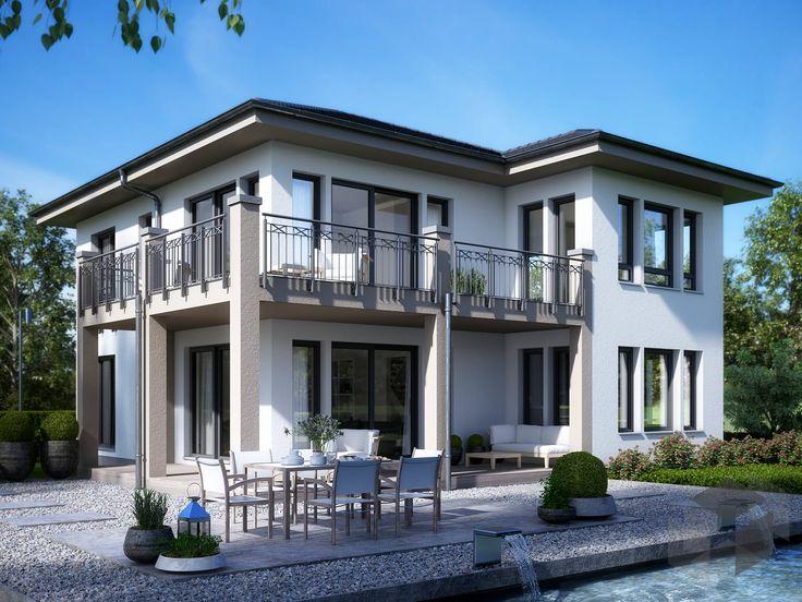 27 besten h user mit wintergarten bilder auf pinterest haustypen massivhaus fertighaus und - Fertighaus mit wintergarten ...