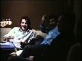 Hombres G bromeando en el estudio de grabación