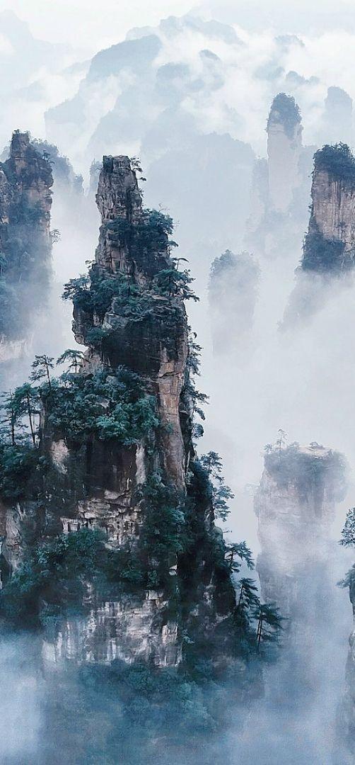Die erstaunlichsten Orte der Welt, die scheinen, auf einen anderen Planeten zu gehören. P