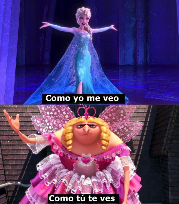 Los 22 mejores �memes� de las princesas de Disney que te harán morir de risa