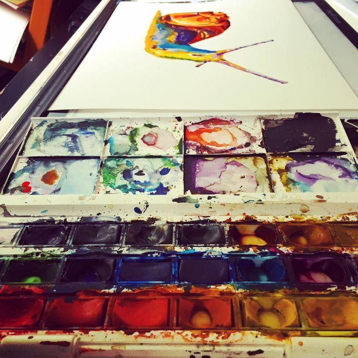 @meghawkins #watercolour #art #fineart#shropshire #shropshireart #beinspired