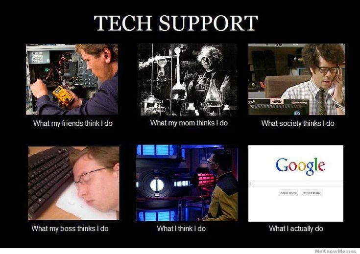 Tech Support meme