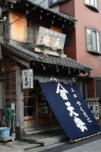 Exterior noren are traditionally used by Japanese shops and restaurants as a means of protection from sun, wind, and dust, and for display of shop name or logo.