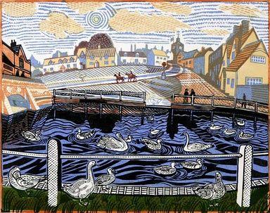 Finchingfield by Richard Bawden