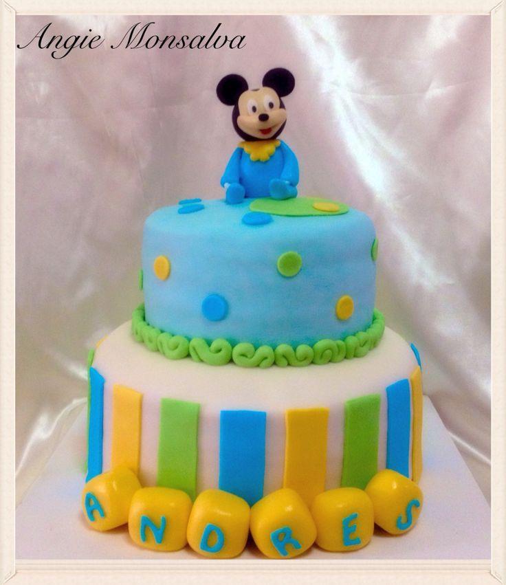Torta mickey bebe