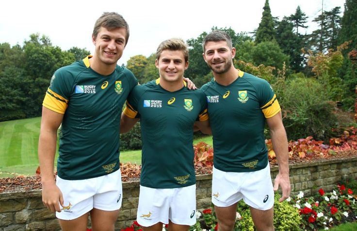 Footy Players: Handre Pollard, Patrick Lambie and Willie le Roux...