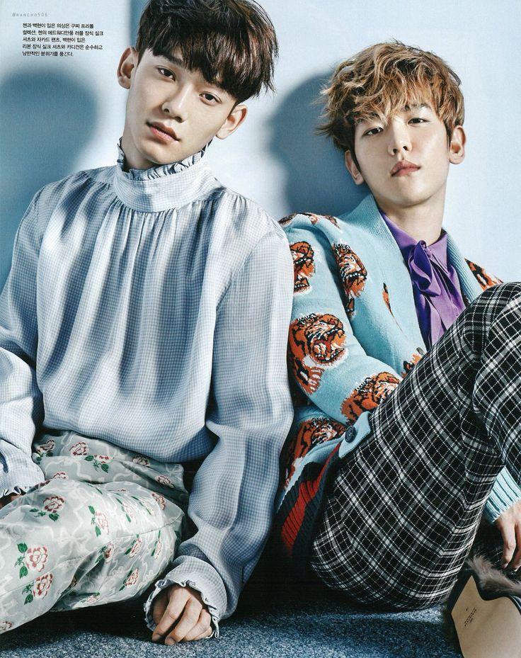 Baekhyun e Chen para a 'Vogue Korea' - EXO