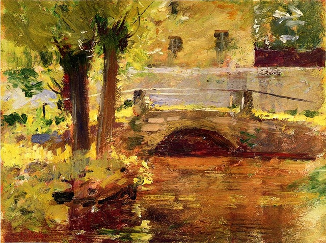 The Bridge at Giverny Theodore Robinson - 1891 by BoFransson, via Flickr