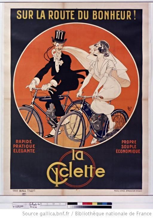 Sur la route du bonheur !... La Cyclette...