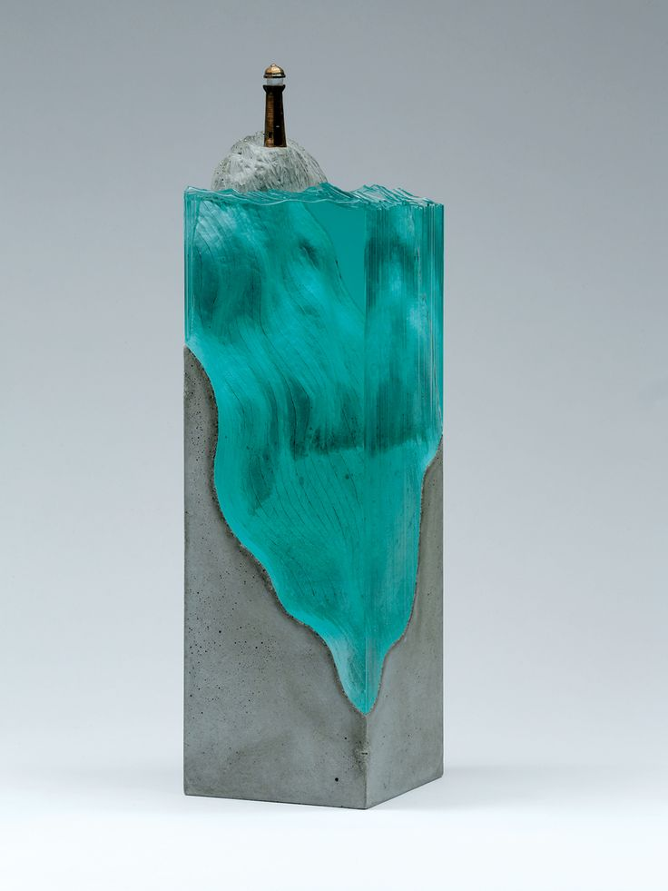 Best Ben Young Images On Pinterest Concrete Glass Art And - Incredible layered glass table mimics oceans depths