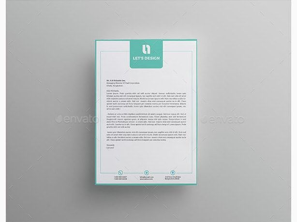 Company Letterhead Template Pinterestu0027te hakkında 1000u0027den fazla fikir - letterhead format for company