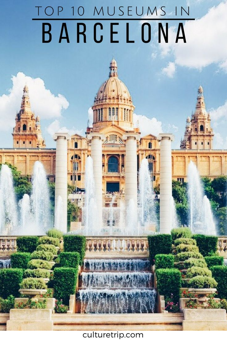 Top 10 Museums In Barcelona