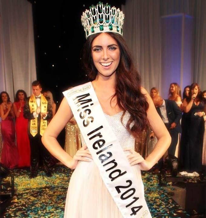 Jessica Hayes Crowned Miss World Ireland 2014
