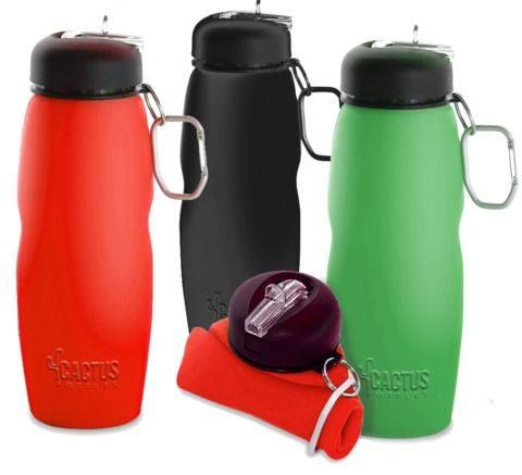 Only 3 colors available now on Amazon of Cactus Bottles' collapsible BPA free water bottles check out http://www.amazon.com/dp/B00MUYN18W