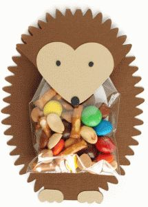 Silhouette Online Store: hedgehog treat holder (half off right now!) wouldn't it be cute in purple like the character from weird animals vbs