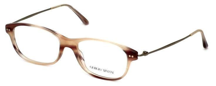 "Giorgio Armani OAR7007 Striped Pink 5021 Eyeglasses 52mm. 5.25"" Frame Width 1.5"" Lens Height. Authentic Giorgio Armani Designer Optical Eyewear ; Hand Crafted in Italy. Includes Original Giorgio Armani Carrying Case. Demo Lens ; No Power. RX Ready."