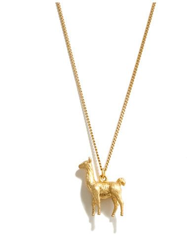I know a few family members who need this necklace! Llama Necklace | 47 Intensely Delightful Pieces Of Animal Jewelry