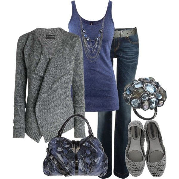 Grey and Blue :)