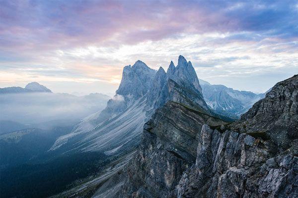 Seceda, Tirol del Sur, Italia