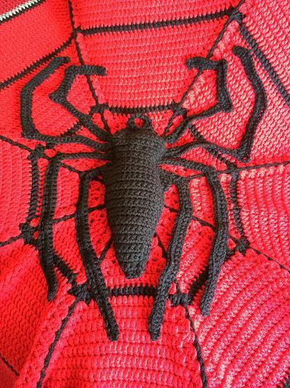 Crochet Pattern For Spiderman Blanket : 1000+ images about crochet on Pinterest Afghan crochet ...
