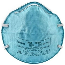 If you add any mask to your go bag, this is a good one! kms   3M N95 Respirator Surgical Masks 1860