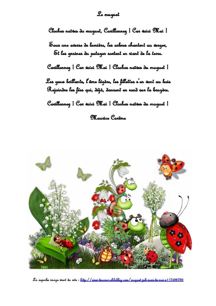 Un petit retour dans mon enfance avec un joli poème de Maurice Carême