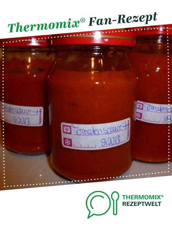 Tomaten Gemusesauce Einmachen Fur Pizza Pasta Rezept Thermomix Rezepte Rezepte