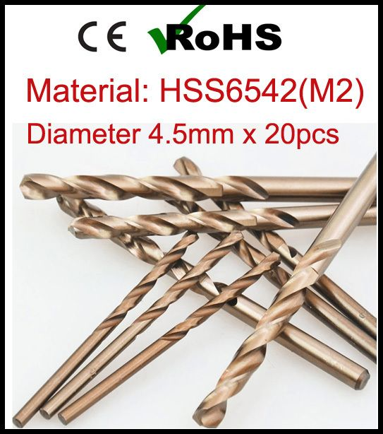 >>>This DealsDiameter 4.5mm x 20pcs High Speed Steel M2 Metal Working Drilling Power Tools Twist Drill Bit scie cloche broca bisagraDiameter 4.5mm x 20pcs High Speed Steel M2 Metal Working Drilling Power Tools Twist Drill Bit scie cloche broca bisagraThis is great for...Cleck Hot Deals >>> http://id684573201.cloudns.ditchyourip.com/32380486746.html images