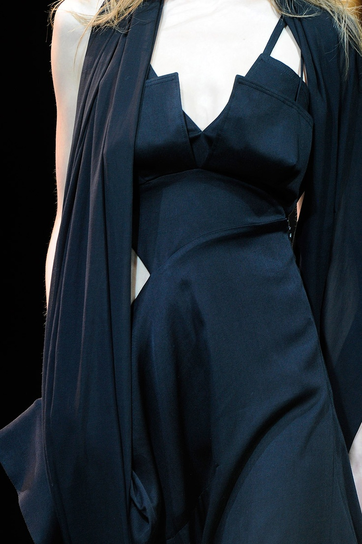 Yohji Yamamoto    i think it's glam and chic, you can wear it for meeting, friend's party and date