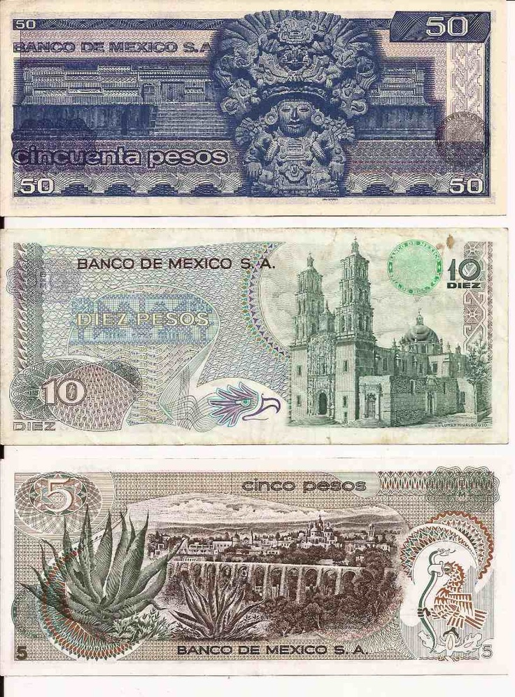 1000 Images About Monedas Y Billetes Mexicanos On