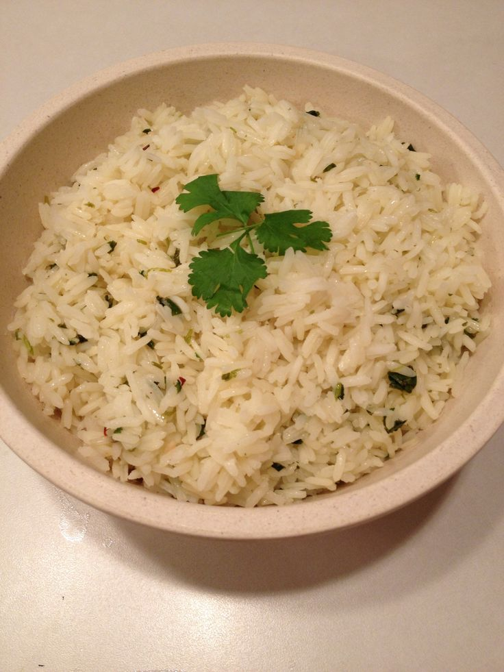 How to Make Cilantro Lime Rice - for my Chipotle style burritos and bowls