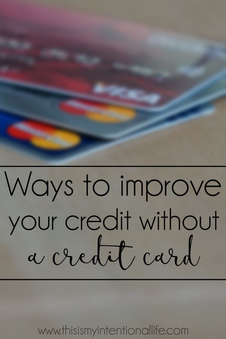 how to build credit rating from credit card