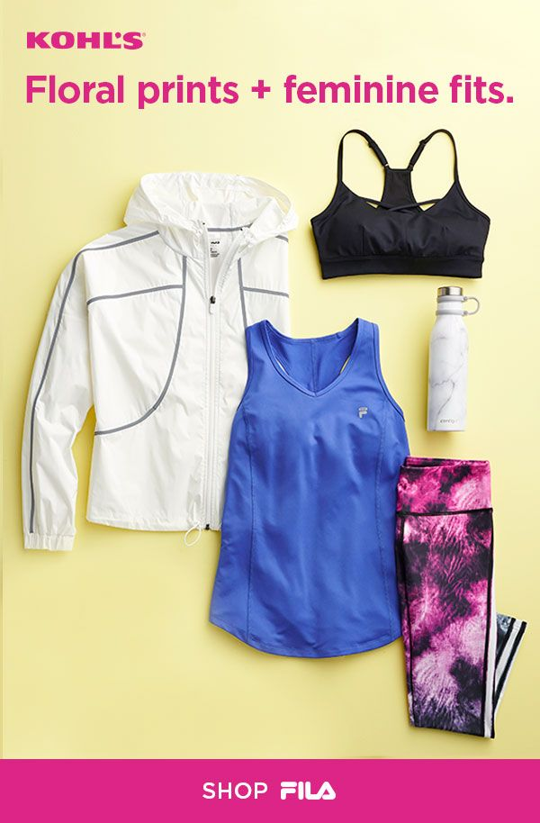 Find FILA workout clothes at Kohl's. Sticking to your