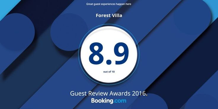 Forest Villa · Booking.com Guest Review Awards