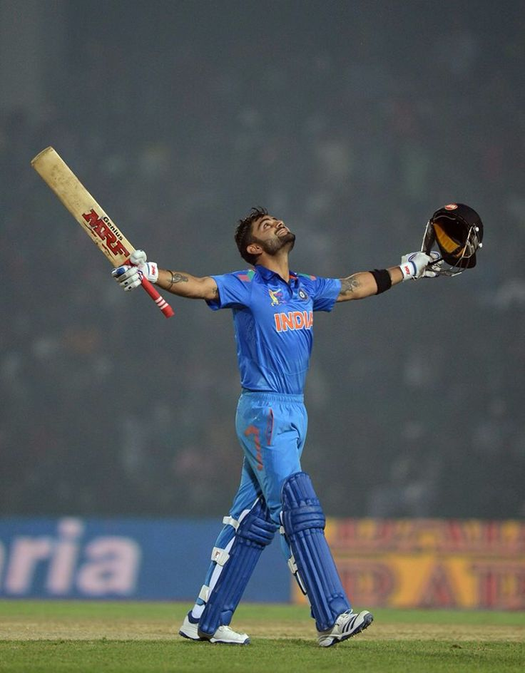 Vk scored century as captain against Bangladesh