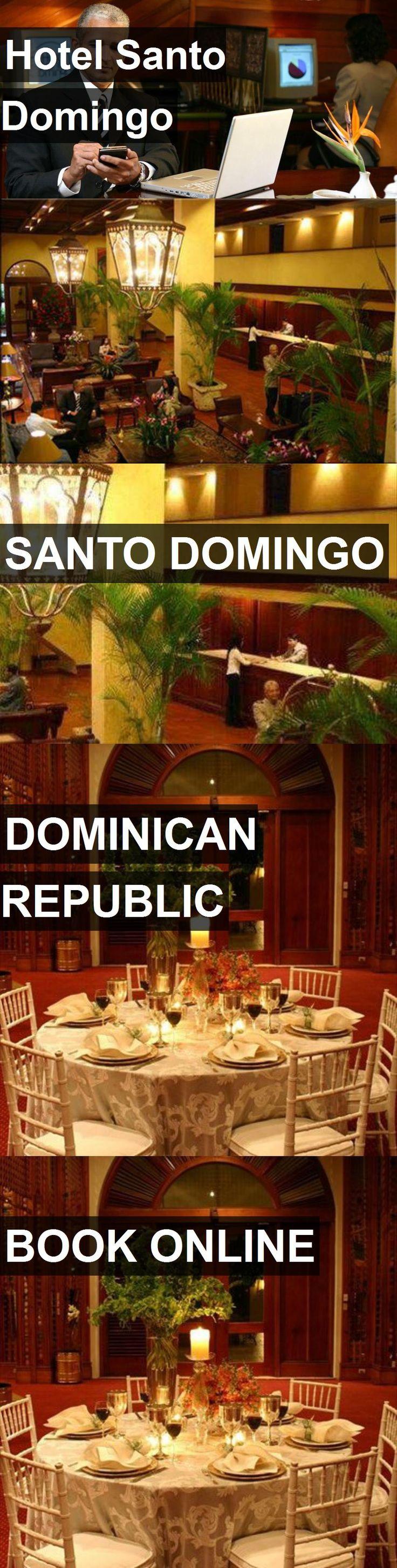 Hotel Santo Domingo in Santo Domingo, Dominican Republic. For more information, photos, reviews and best prices please follow the link. #DominicanRepublic #SantoDomingo #travel #vacation #hotel