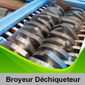 Les broyeurs, déchiqueteurs, compacteurs ou presse à balles sont des équipements favorables pour la valorisation des déchets. Si vous en disposez un parmi eux, assurez-vous que tout le matériel est complet.