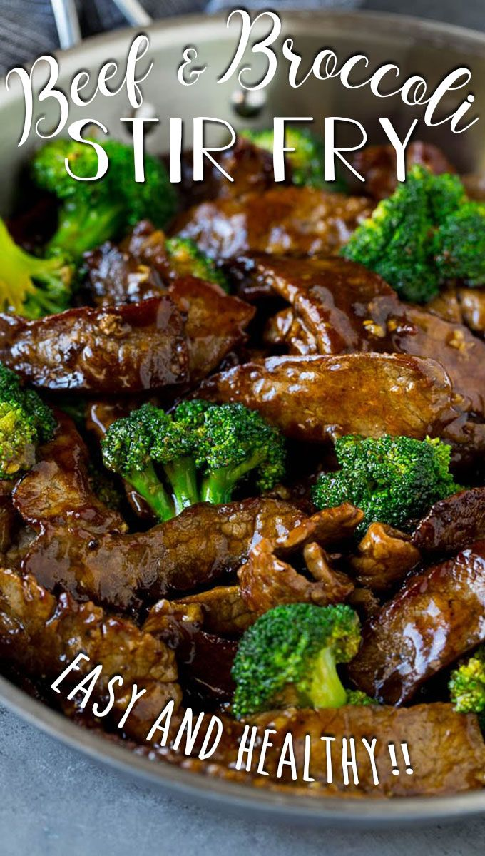 Beef And Broccoli Stir Fry Easy Delicious Recipes Homemade Beef Recipes