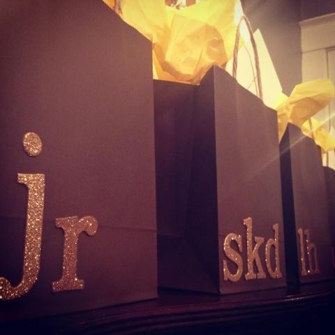 bridesmaid/groomsmen gift bag ideas