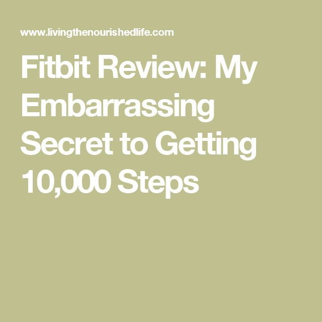 Fitbit Review: My Embarrassing Secret to Getting 10,000 Steps