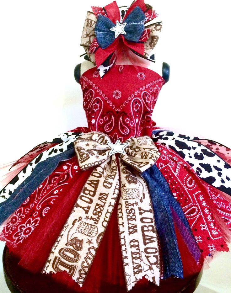 A personal favorite from my Etsy shop https://www.etsy.com/listing/270195160/rodeo-baby-tutu-ready2ship-outfit-of