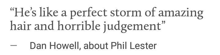 omg i thought this was an angsty tumblr quote but nope it's just dan fangirling
