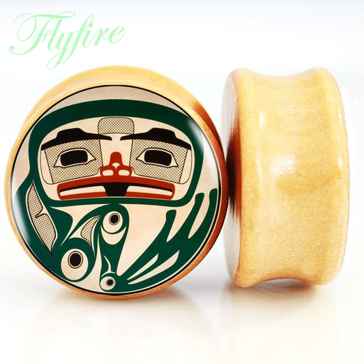 Find More Body Jewelry Information about 2pcs/Lot of Nature Wood Ear Plugs Saddle Fit Ear Gauges Flesh Tunnels  funny face2 for Christmas Gift 8MM 25MM 2G 1'',High Quality saddle cloth,China plug in electric vehicle Suppliers, Cheap saddle carrier from DreamFire Store on Aliexpress.com