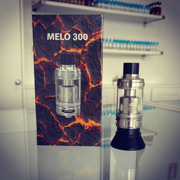 Looking for a genuine cloud machine? Look no further than the eleaf Melo 300 rated up to 300watts with a 6.5ml capacity the Melo 300 is a cloud chasers dream! In stock @vaporaecigs in Black & Stainless for only $39.95 #cloudchaser #aussievapers #melo #eleaf