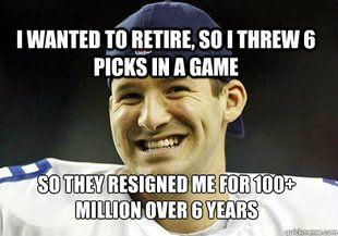 making fun of tony romo memes | Tony Romo