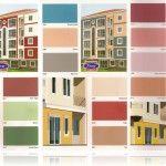 Dış Cephe Renk Kartelası 2015 Duvar Renkleri
