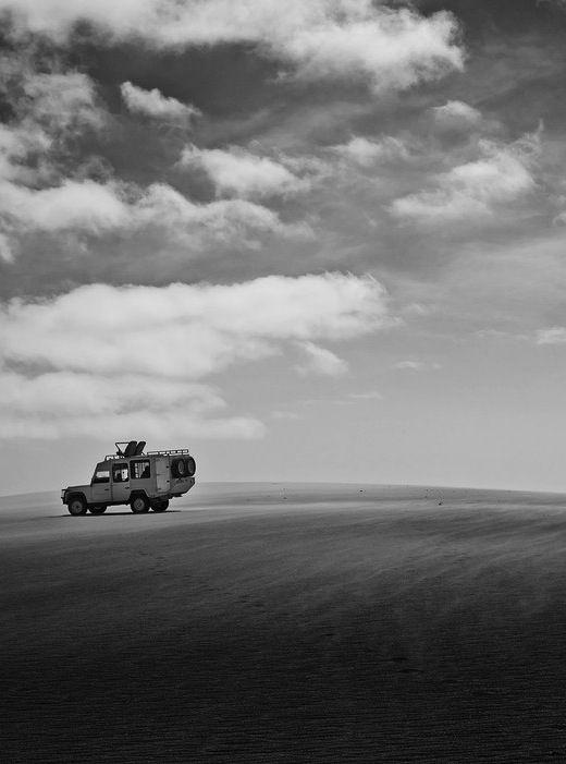The rolling dunes around Hoanib Camp.