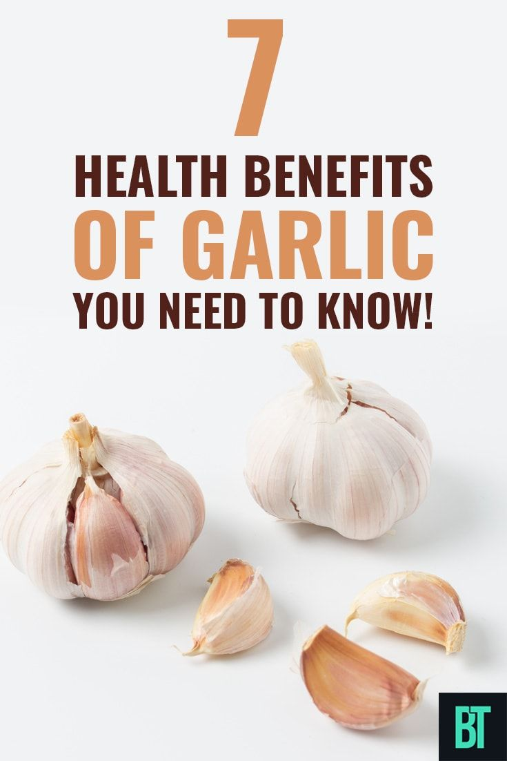 all you need to know about garlic: 7 great health benefits